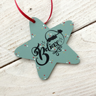 Believe Star decoration, Christmas star