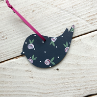 Little bird Christmas tree decoration