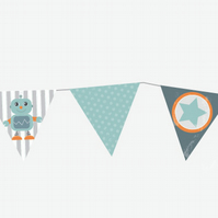 Digital, Robot party bunting.