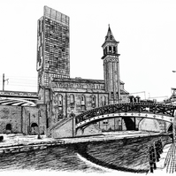 Art Print - Castlefield in Manchester