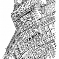 Art Print - The Printworks, Manchester