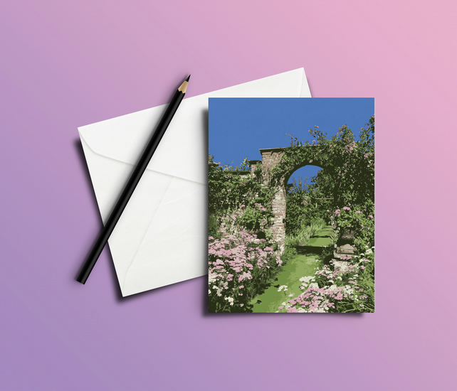 Greeting Card - Garden Arch