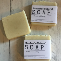 Handmade Soap - Honey & Oatmeal