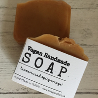 Handmade Soap - Turmeric & Spicy Orange