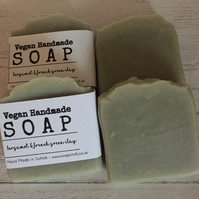 Bergamot & French Green Clay Soap - Handmade - Vegan