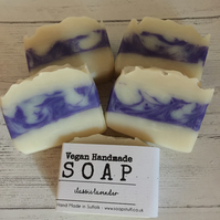 Handmade Soap - Lavender - Vegan & Palm oil free