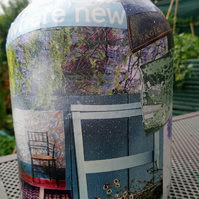 Decorated Oversized Storage Jar