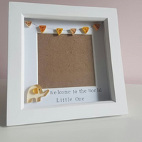 New Baby Gift, picture frame, Christening gift, baby shower gift