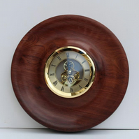 Handmade Indian Rosewood Wall Clock
