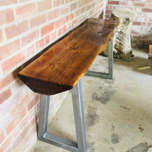 Solid handmade oak table