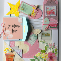 Scrapbook and Memory Keeping Picture Frame