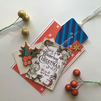 Christmas Gift Card Holder.