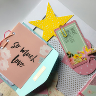 Scrapbook and Precious Memory Picture Frame