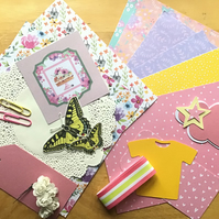 Collaging, Journalling, Craft Pack