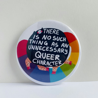 Queer Character Badge - 58mm Pride