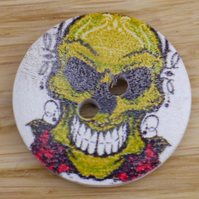 Mad skull buttons