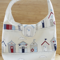 Beach hut Shoulder Bag