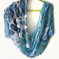 Limited edition Scarf sarong from painting entitled 'Wave'