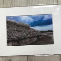 Newgrange  Mounted Photo