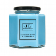 Blueberry Muffin Scented Candle. Three Sizes Available