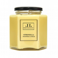 Citronella Scented Candle. Three Sizes Available