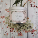 Fresh Linen Hand Poured Soy Candle -  Vegan Friendly