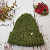 Knitted winter hat Unisex fashion hat Wool alpaca knit hat Christmas gift