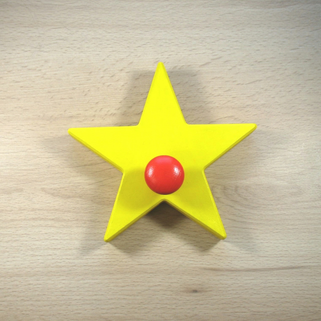Star Coat Hook  - pick your colours