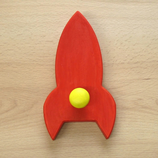 Rocket Coat Hook  - pick your colours