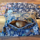 Reusable Microwave Baked potato bag - 100% cotton