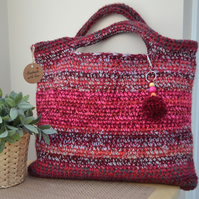 Gorgeous Red Short Handled Bag