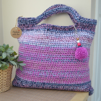 Pretty Pink Short Handled Bag