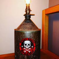 Petrol Can Upcycled Lamp