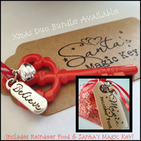 Santa's Magic Key and Reindeer Food Duo. Christmas Eve Box.