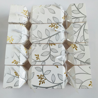 Gold and Silver Design Crackers