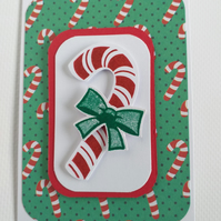 Candy Cane Christmas Cards