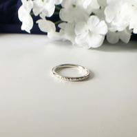 Patterned Stacking Ring