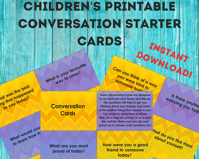 picture about Printable Conversation Cards identify Children printable communication novice playing cards, relevant for little ones previous 4-11