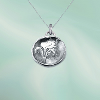 ARIES astrological charm - ZODIAC pendant - ETHICAL jewellery