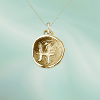 PISCES astrological charm - ZODIAC pendant - ETHICAL jewellery