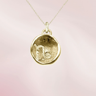 CAPRICORN astrological charm - ZODIAC pendant - ETHICAL jewellery