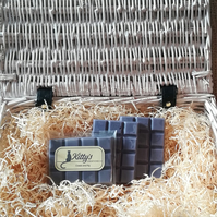 Cassis and Fig snap bar cubes