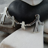 Create your own Silver charm bracelet
