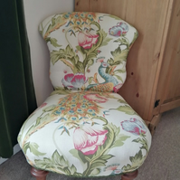 Small Antique Nursing Chair