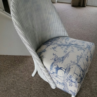 Lloyd Loom Wicker Chair