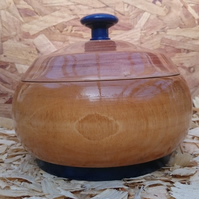 Bowl Lidded (97) Handmade Wooden