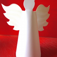 5 Angel  Christmas Tree Toppers Table Decoration