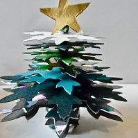 Christmas Tree cake Topper Table Decoration