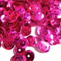 30g of PINK 7mm  Sequins Approx. 2500