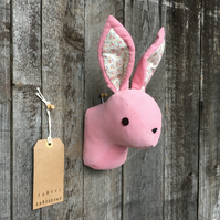 Wall mounted Rabbit head - Pink